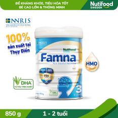 Sữa Bột FAMNA step 3 từ 1-2 tuổi lon 850g- Bé Cao Lớn, Thông Minh [Ưu đãi vận chuyển]