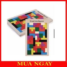 Bộ Đồ Chơi Xếp Hình Tetris Phát Triển Tư Duy Cao Cấp Cho Bé TE01
