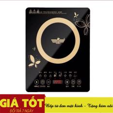 Bếp điện từ, bếp lẩu, bếp từ cảm ứng mặt kính EAGLE, tiết kiệm điện năng, an toàn khi sử dụng – Bếp từ đa năng – bếp từ đơn cảm ứng – bếp từ đơn mặt kính (Tặng kèm 1 nồi lẩu Inox, Chọn phân loại)