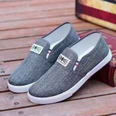 Giày lười nam vải thoáng khí SportShoeess đế kép đơn giản