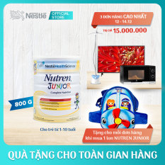 Sản phẩm dinh dưỡng y học Nutren Junior cho trẻ từ 1-10 tuổi 800g + Tặng 1 túi đeo chéo máy bay – Giới hạn 5 sản phẩm/khách hàng