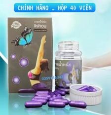 Viên Giảm cân Lishou Tím Phục Linh – Thanh Loan – 40 Viên – hàng chuẩn Thái siêu giảm
