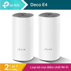 TP-Link Hệ thống WiFi Mesh Cho Gia Đình AC1200 cho độ phủ Wi-Fi tuyệt vời – Deco E4 – Hãng phân phối chính thức