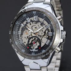 Đồng hồ nam Winner TM432 cơ lộ máy dây thép không gỉ