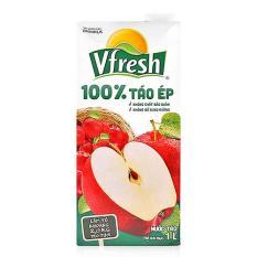 Nước táo ép Vfresh hộp 1 lít
