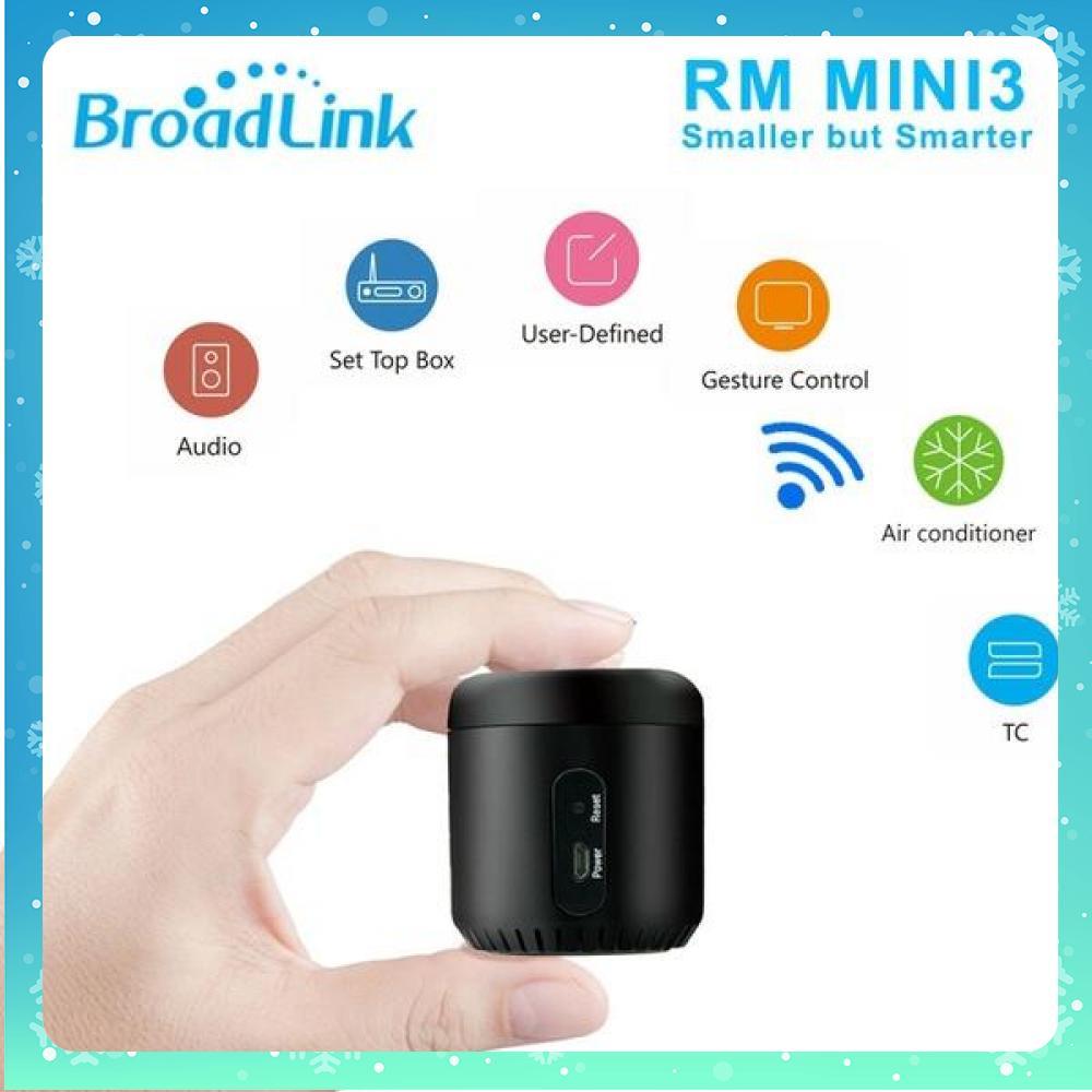 Thiết bị điều khiển hồng ngoại nhà thông minh Broadlink RM Mini