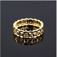 Nhẫn Xi Vàng 18K Kim Tiền Loại 1 hàng đẹp ( Đủ size )