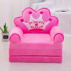 Ghế tập ngồi, ghế ăn dặm, ghế sofa cho bé ba ngăn màu hồng
