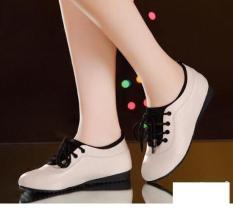 Giày lười nữ êm chân – Kem
