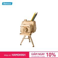Mô hình lắp ghép gỗ Robotime Máy ảnh cổ TG403