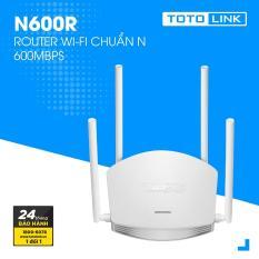 Router Wi-Fi TOTOLINK 600Mbps N600R (Trắng) – Hãng phân phối chính thức