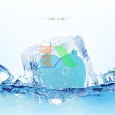 Bộ 2 Hộp Đá khô CO2 DK400 400ml giữ lạnh sữa, đồ uống, đồ ăn. Hộp băng khô dạng gel cho quạt điều hòa, du lịch, phượt