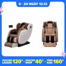 Ghế massage kiểu mới màn LCD cảm ứng, kiểu 0 trọng lực, có thể phát nhạc massage toàn tự động cao cấp mới Angel wings