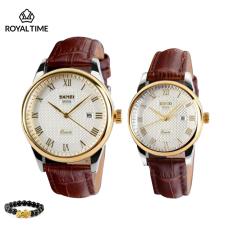 Đồng hồ đôi nam nữ SKMEI 9058 chính hãng dây da cao cấp SK9058 – Fullbox – Tặng gói bảo hành 12 tháng – tặng vòng tay cao cấp – gói hàng cẩn thận đúng mẫu