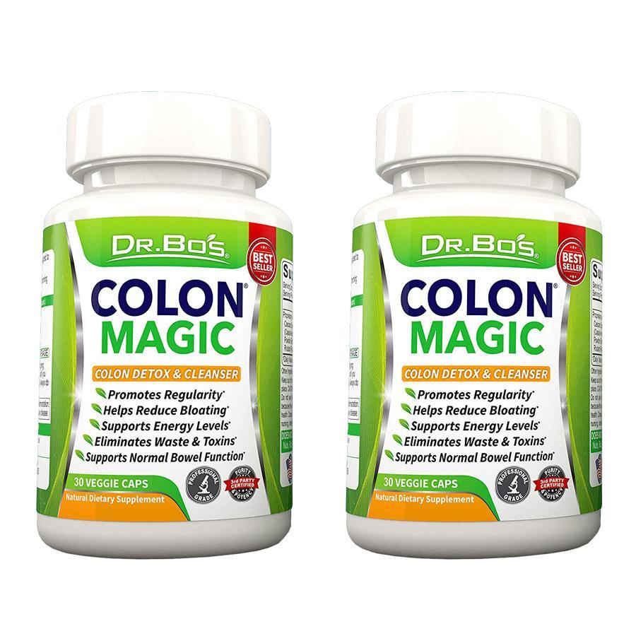 Bộ 2 hộp viên uống giảm cân & thanh lọc cơ thể cực HOT từ Mỹ (Dr.Bo's)