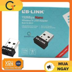 [Nhập ELJAN11 giảm 10%, tối đa 200k, đơn từ 99k]USB thu sóng wifi LB-Link tốc độ 150 Mbps chuyên dụng cho đầu thu kỹ thuật số