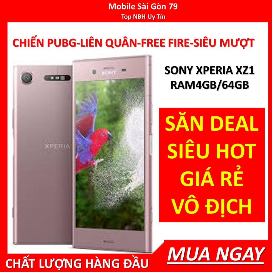 [RẺ HỦY DIỆT] SONY XZ1 – SONY XPERIA XZ1 ram 4G Bộ nhớ 64G mới, Máy Chính hãng