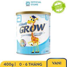 Sữa bột Abbott Grow 1 G- Power 400g – Giới hạn 5 sản phẩm/khách hàng