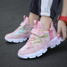 giày thể thao siêu nhẹ cho bé gái 3-10 tuổi. giầy thể thao bé gái mới nhất 2021