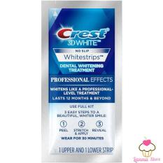 Miếng dán trắng răng Crest 3D White loại Professional Effects- Mỹ