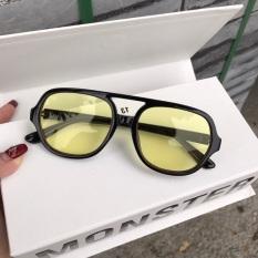 Kính râm Flackbee vàng, có thể đeo đi đêm và thay mắt kính râm cận 3340