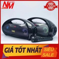Máy Nghe Nhạc Bulutooth Mini Để Bàn Kimiso Km – S2 Tặng Kèm Mic Loa Bluetooth Cầm Tay Giá Rẻ