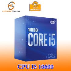 CPU Intel Core i5 10600 2.9GHz 6 nhân 12 luồng, 12MB Cache, 65W Socket Intel LGA 1200