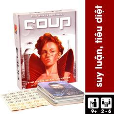 Trò chơi thẻ bài Boardgame Coup – Cuộc Chiến Quyền Lực – BGVN