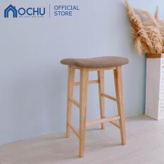 Ghế Đôn Chân Gỗ Cao Su OCHU – CARDl STOOL Size M
