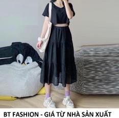 Chân Váy Dài Xòe Voan Duyên Dáng Thời Trang HOT – BT Fashion (Có vải Lót bên trong) + Video, Hình Thật (VA01)