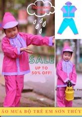 Áo mưa trẻ em, áo mưa bộ trẻ em SƠN THỦY, Tìm mua áo mưa, áo mưa bộ an toàn, bền đẹp cho bé trai và bé gái (6-10 tuổi) làm từ chất liệu nhựa PVC cao cấp – Bảo vệ bé yêu