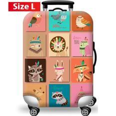 Túi bọc bảo vệ vali -Áo vỏ bọc vali – H21 Size S M L HPValiOEM