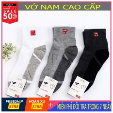 [Miễn phí vận chuyển Toàn Quốc] Set 10 đôi tất cổ trung Uniqlo chất vải mềm, chống hôi chân