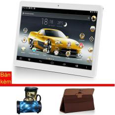 Máy tính bảng cutePAD M9601-phiên bản 2018 wifi/3G 9.6″ Vàng gold+ Bao da nâu + Loa di động bluetooth cutePAD BS383 ngẫu nhiên – Hãng phân phối chính thức