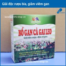 Bổ Gan Cà Gai Leo USA Pharma mát gan, giải độc gan, hạ men gan HSD 06/2022 – Hộp 60 viên dùng cho người từ 6 tuổi