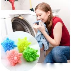 Set 10 bóng giặt gai giặt sạch giảm nhăn – Bóng giặt cho quần áo như mới – Banh giặt quần áo trong máy giặt