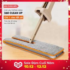 Cây lau nhà thông minh 360 độ Clean Up (Vàng)