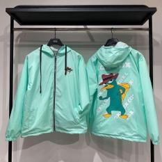 Áo Khoác Dù CAX CAX Unisex 2 màu form rộng Ulzzang phong cách Hàn Quốc – Áo khoác hình thú mỏ vịt Perry siêu xinh