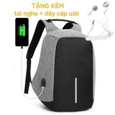 Balo Laptop Đa Năng , Balo Thời Trang Nam , tặng kèm tai nghe + khóa chống trộm – BLPS02-6682