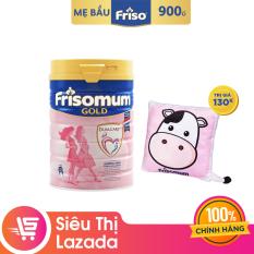 Sữa bột Frisomum Gold Vani 900g dinh dưỡng kép cho mẹ mang thai và cho con bú + Tặng 1 gối tựa lưng trị giá 130K