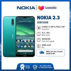 Điện thoại Nokia 2.3 (2GB/32GB) – Màn hình TFT 6.2″ HD Hệ điều hành Android 9 Pie (Android One) Bảo hành chính hãng 12 tháng