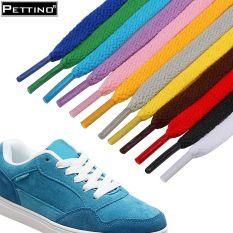 01 cặp dây giày nam, dây giày nữ, dây giày thể thao, dây giày sneaker loại dẹt đẹp, phù hợp cho giày cổ thấp, có nhiều màu lựa chọn PETTINO-LLLS01