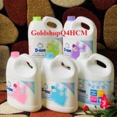 (HCM, ĐỦ 5 MÀU) Nước giặt xả Dnee Thái Lan 3000ml