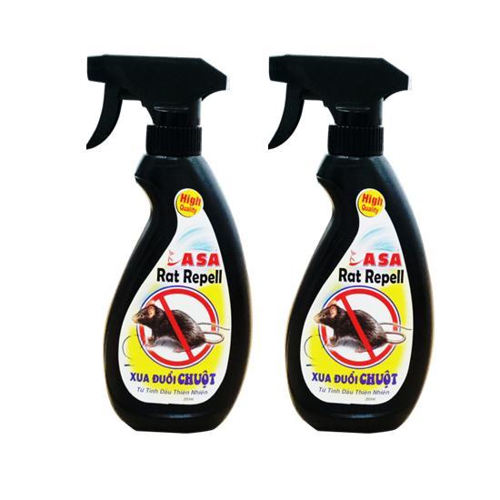 (COMBO 2 ) Xịt xua đuổi chuột ASA Rat Repell 350 ml