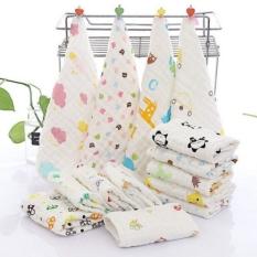 Khăn xô rửa mặt 6 lớp cho bé sơ sinh loại dày cao cấp siêu mềm