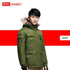 Áo khoác giữ ấm nam Humbgo mũ lông thú 1550203 Snow Melt Ski- Wear, công nghệ chống thấm nước chuyên nghiệp, trượt nước tốt, chống dầu, chống ăn mòn