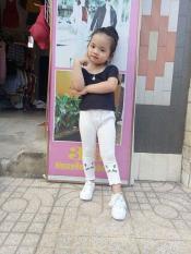 Quần len tăm cho bé gái 8-22kg