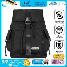 Balo CORE Saigon Swagger SGS – Balo Laptop Thời trang thiết kế sọc Icon Tartan, Chất liệu Polyester tráng PU cao cấp, trượt nước chống thấm nước, Ngăn chống sốc riêng biệt, Độ bền cao, Nhiều ngăn