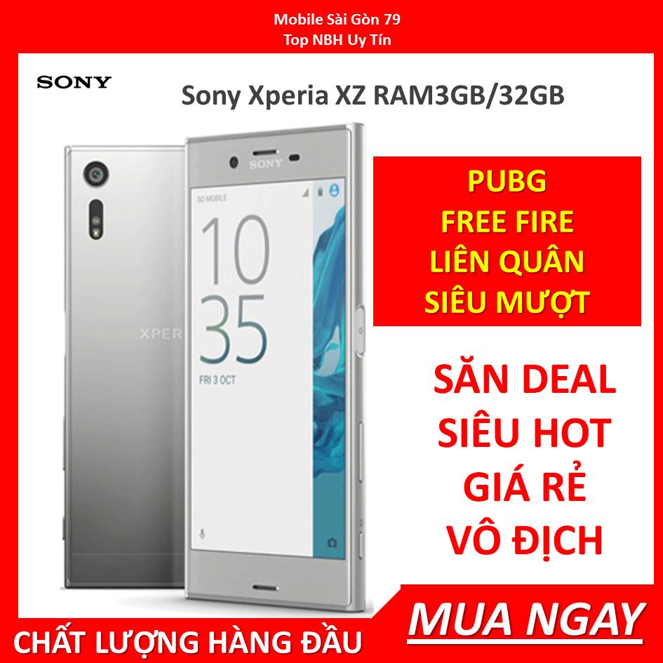 điện thoại Sony XZ – Sony Xperia XZ mới chính hãng, ram 3G Bộ nhớ 32G, Chơi Liên Quân-PUBG mượt,Bao đổi mễn phí tại nhà
