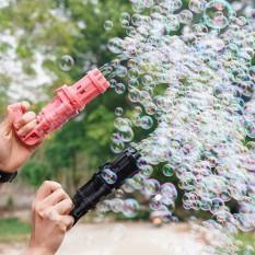 Súng bắn bong bóng 8 nòng siêu mạnh